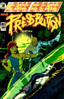 Eclipse Comics, Laser Eraser and Pressbutton #3