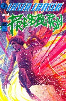 Eclipse Comics, Laser Eraser and Pressbutton #5
