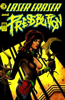 Eclipse Comics, Laser Eraser and Pressbutton #6
