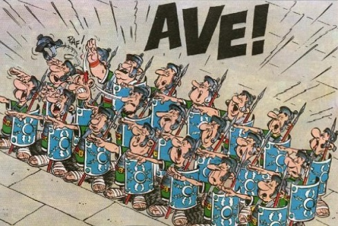Legionnaires in Asterix and the Chieftain's Shield