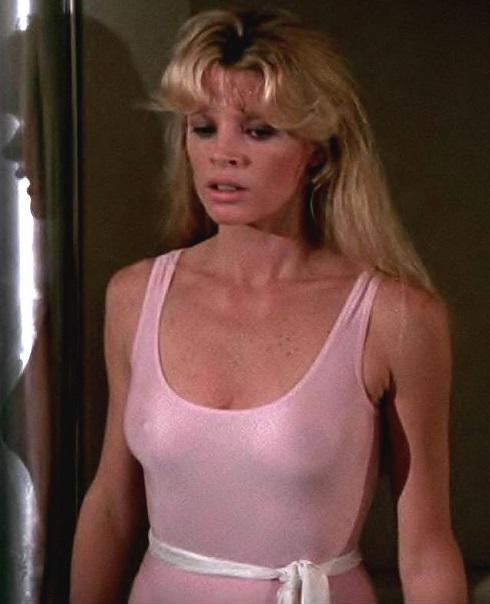 Never Say Never Again, Domino Petachi, nipples, see through leotard