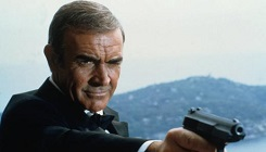 Sean Connery in Never Say Never Again