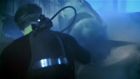 Never Say Never Again, Under Water Scene