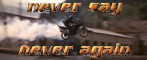 Never Say Never Again (1983) James Bond Movie