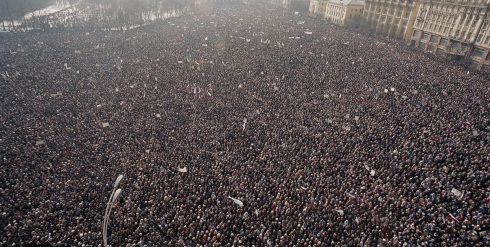 Massive crowd in Russia