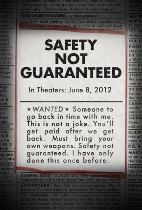 Classified Ad from Safety Not Guaranteed