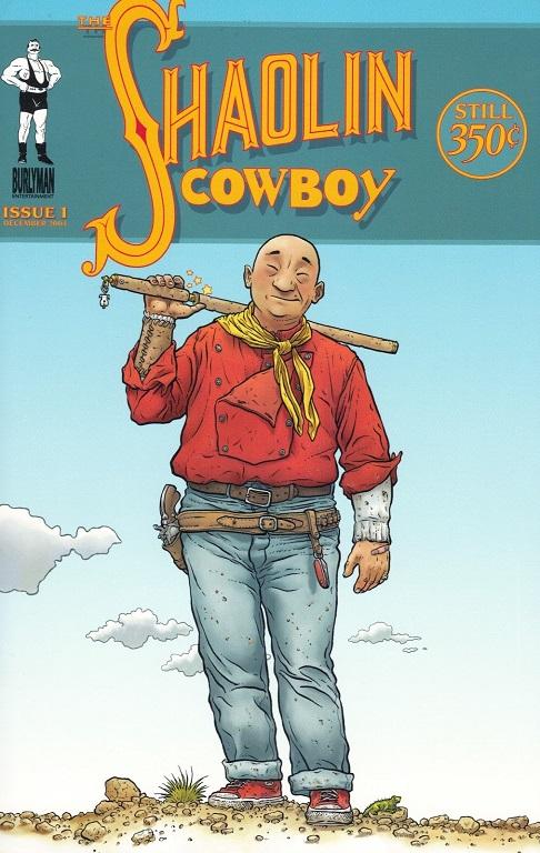 Geof Darrow Shaolin Cowboy Cover #1
