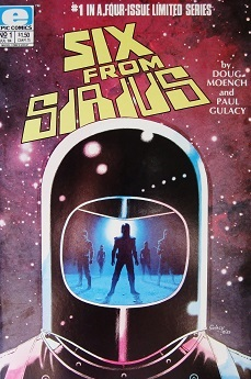 Six from Sirius Cover #1