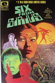 Six from Sirius Cover #2