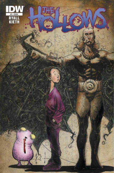The Hollows, art by Sam Kieth