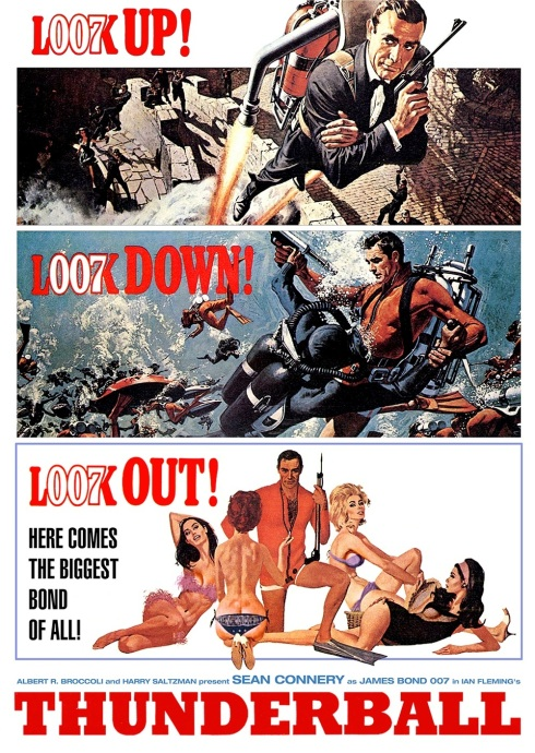 Thunderball movie (1965), James Bond