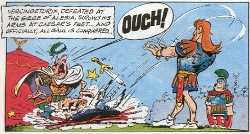 Vercingetorix in Asterix and the Chieftain's Shield
