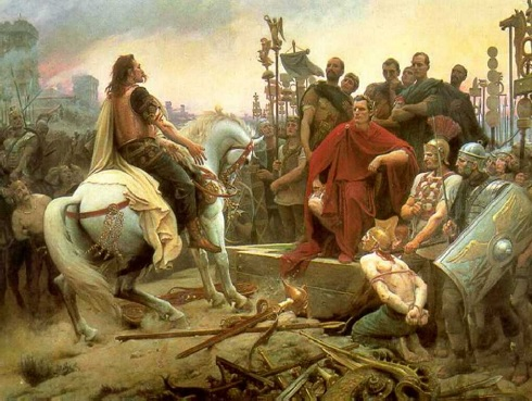 Vercingetorix by Lionel Royer