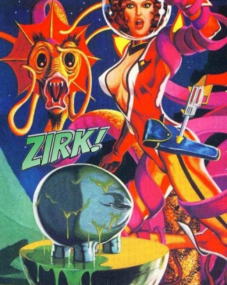 Zirk the Space Pervert from Axel Pressbutton