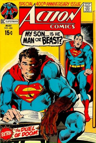 Action Comics #400, Neal Adams cover