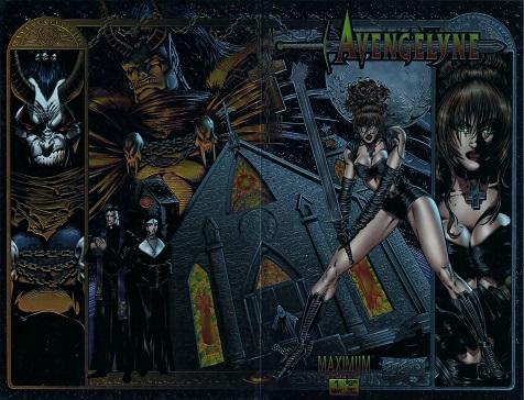 Avengelyne #1 Chromium cover by John Stinsman