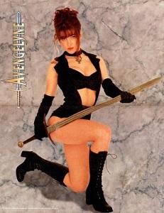Avengelyne model, Cathy Christian