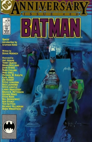 Batman #400, Anniversary issue