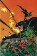 Marvel Fanfare Pinup: Black Panther and Klaw by Steve Rude