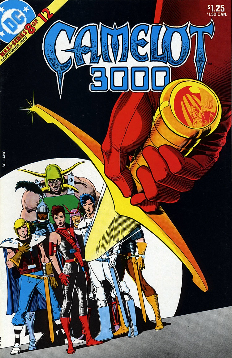 Camelot 3000 by Mike Barr and Brian Bolland – Comics A-Go