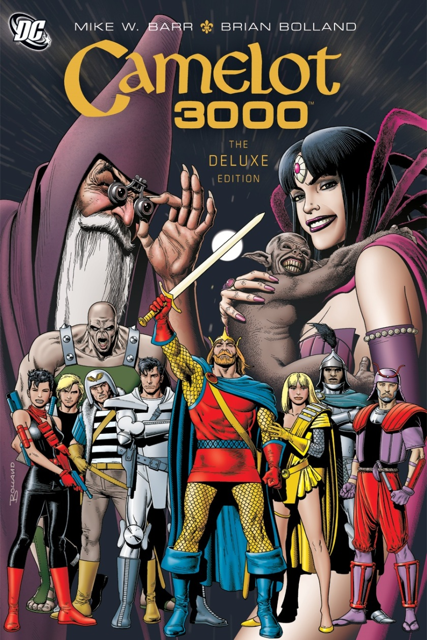 Camelot 3000 Deluxe Edition 2008 Graphic Novel