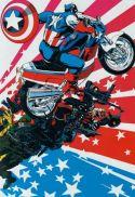 Marvel Fanfare Pinup: Captain Maerica by Michael Golden