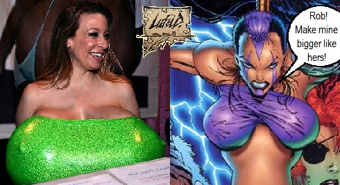 Chelsea Charms by Rob Liefeld