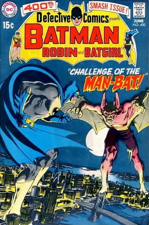 Detective Comics #400, Neal Adams, First Man-Bat