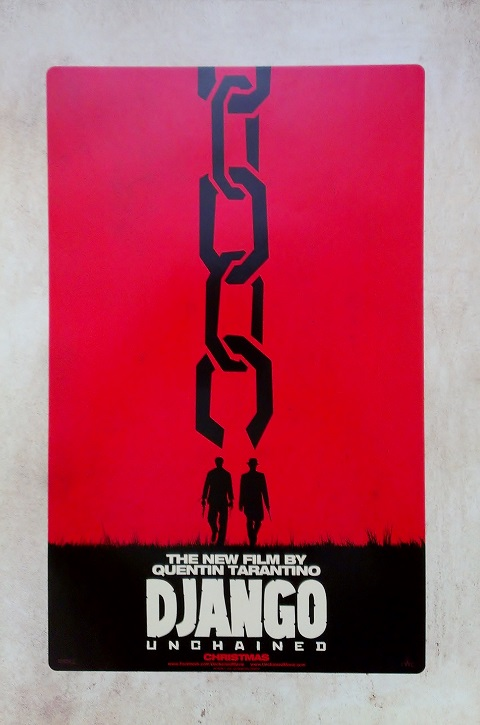 Promo Poster for Django Unchained from Comic-Con 2012