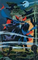 Marvel Fanfare Pinup: Dracula by Bill Reinhold