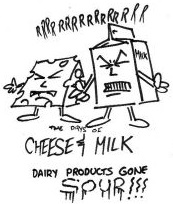 Milk & Cheese comics