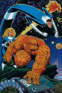 Marvel Fanfare Pinup: Fantastic Four by Art Adams