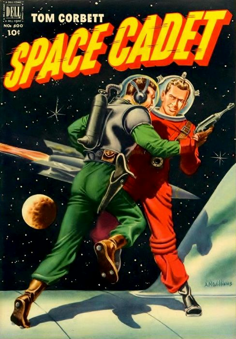 Four Color Comics #400, Tom Corbett, Space Cadet