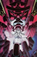 Marvel Fanfare Pinup: Galactus and Silver Surfer by Jim Lee