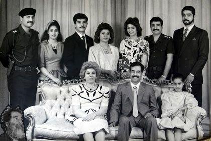 Saddam Hussein's family