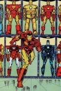 Marvel Fanfare Pinup: Iron Man by Bob Layton