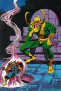 Marvel Fanfare Pinup: Lok by John Buscema and Brett Breeding