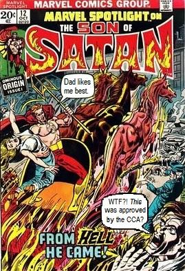 Marvel Spotlight #12: Origin of Son of Satan
