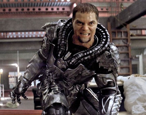 Michael Shannon General Zod from Man of Steel movie