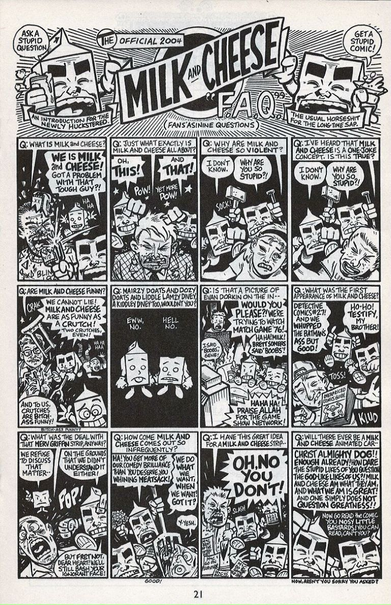 Evan Dorkin's Milk & Cheese