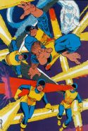 Marvel Fanfare Pinup: Original X-Men by Marshall Rogers