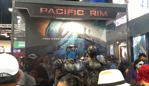 Pacific Rim at Legendary Films Booth