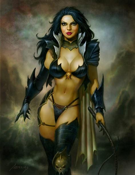 Fantasy Art by Paul Abrams