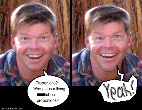 Rob Liefeld, comic book artist satire