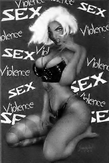 Sex and violence in comic book art