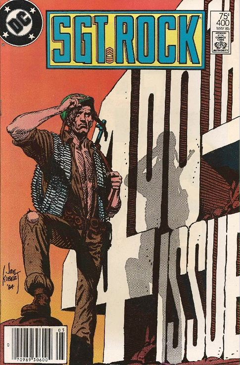 Sgt. Rock #400, Joe Kubert cover