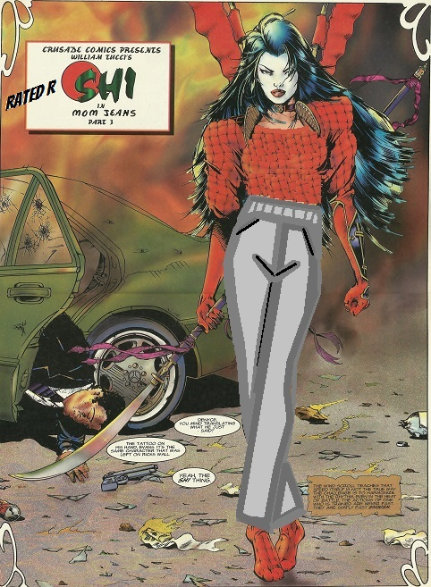 Shi comic book