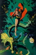 Marvel Fanfare Pinup: Submariner by Mike Mignola