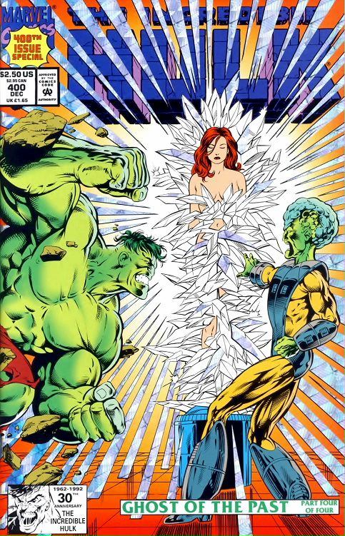 The Incredible Hulk #400: prism cover