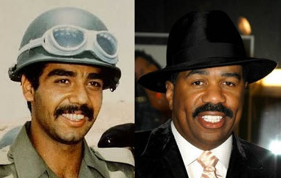 Uday Hussein looks like Steve Harvey